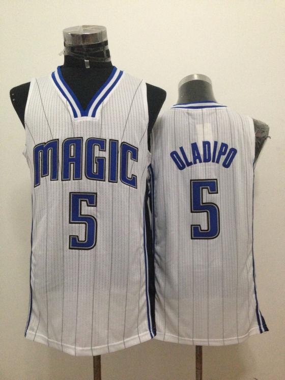 Magic 5 Oladipo White New Revolution 30 Jerseys