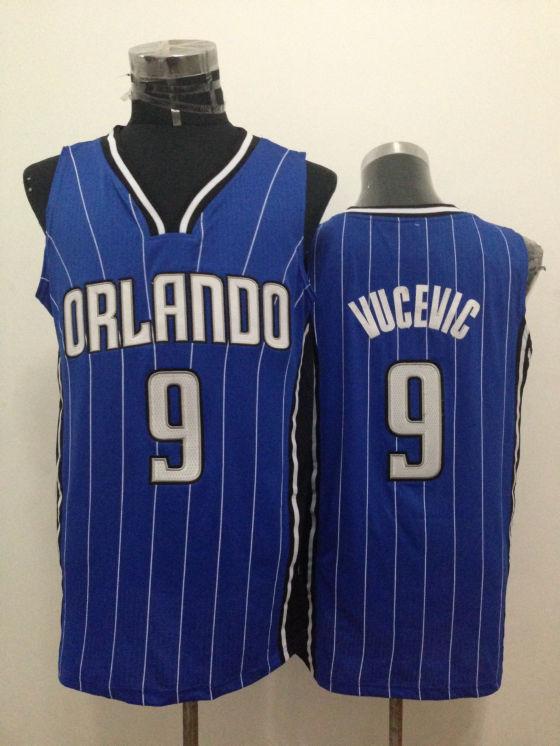 Magic 9 Vucevic Blue New Revolution 30 Jerseys