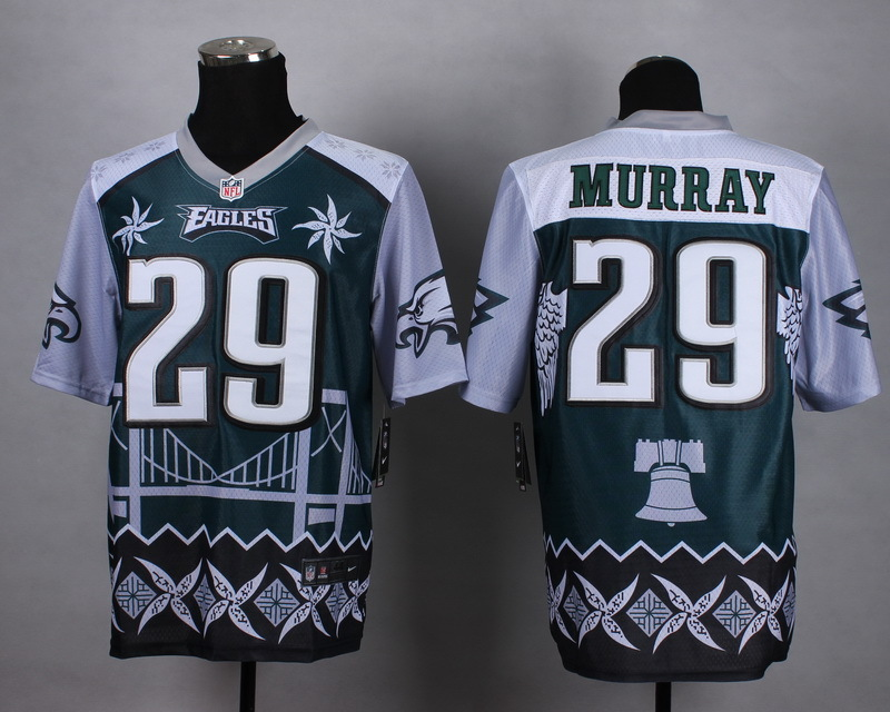Nike Eagles 29 Murray Noble Fashion Elite Jerseys