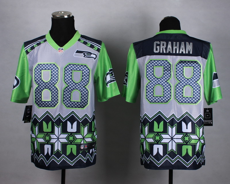 Nike Seahawks 88 Graham Noble Fashion Elite Jerseys