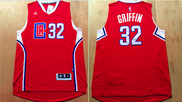 Clippers 32 Blake Griffin Red 2015 Swingman Jersey