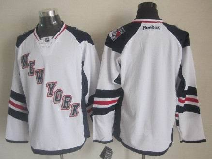 Rangers Blank White 2014 Stadium Series Jerseys
