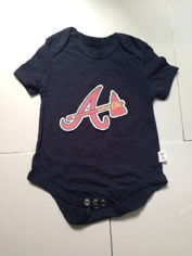 Braves Black Toddler T-shirts