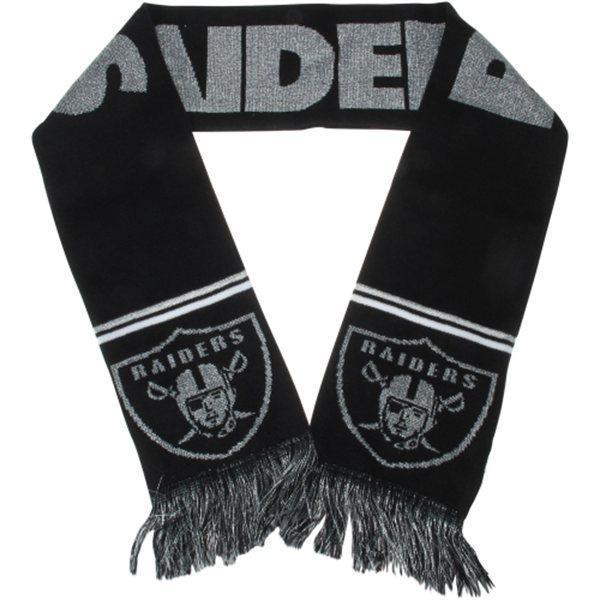 Raiders Black Fashion Scarf