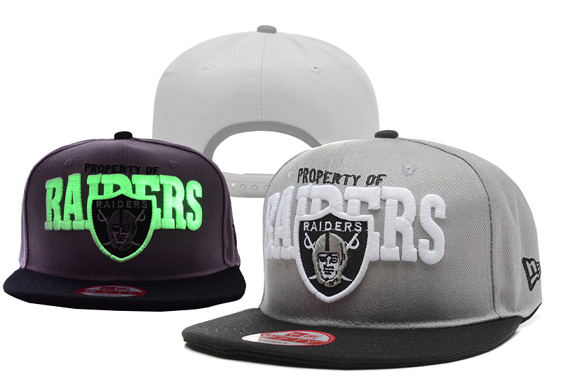 Raiders Fashion Luminous Caps YD