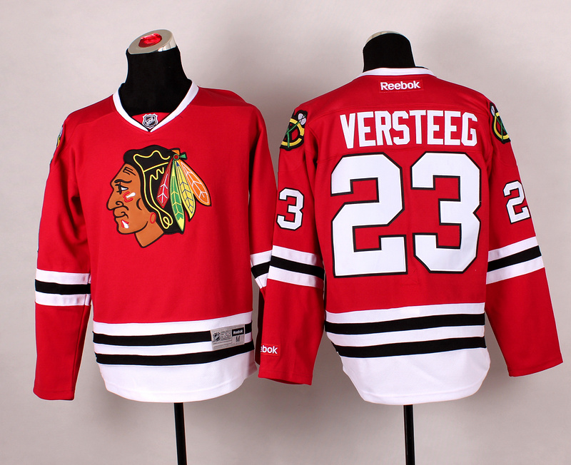Blackhawks 23 Versteeg Red 2014 Stadium Series Jerseys