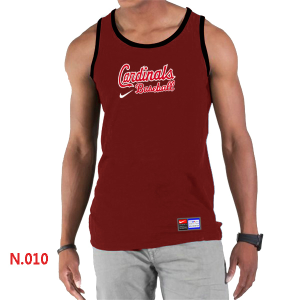Nike St.Louis Cardinals Home Practice Men Tank Top Red