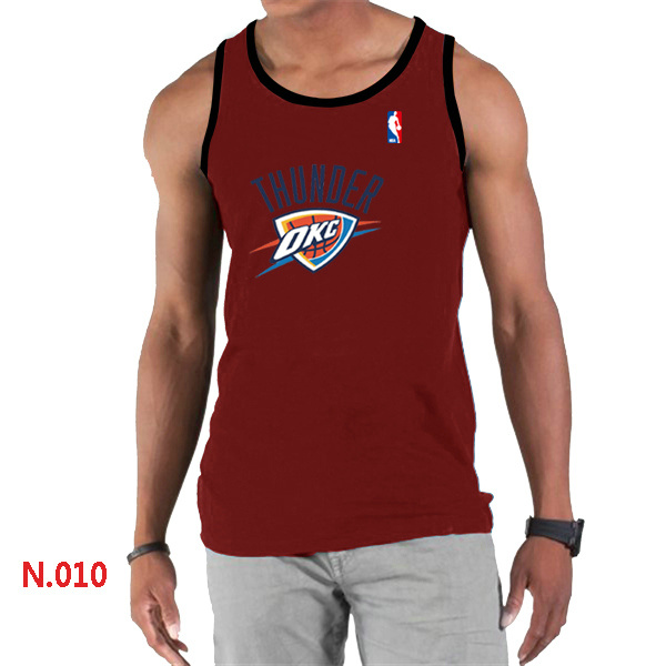 Oklahoma City Thunder Big & Tall Primary Logo Men Red Tank Top