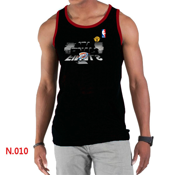 Oklahoma City Thunder Eastern Conference Champions Men Black Tank Top