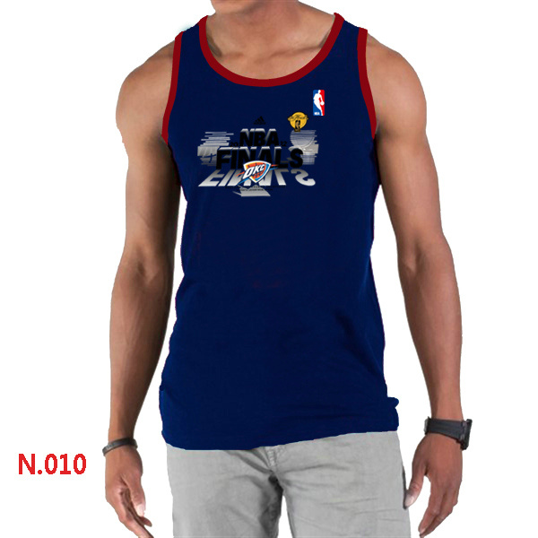 Oklahoma City Thunder Eastern Conference Champions Men D.Blue Tank Top
