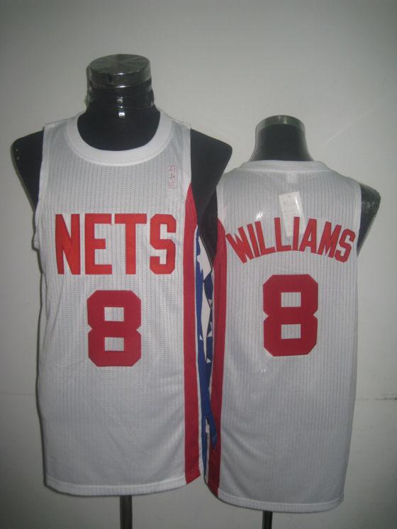 Nets 8 Williams White New Revolution 30 Jerseys