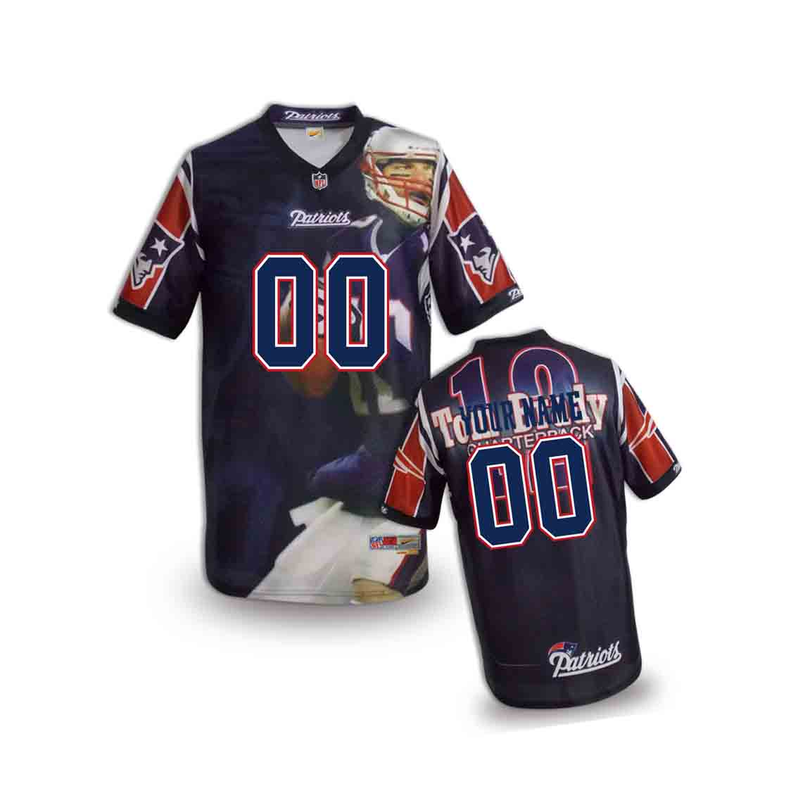 Nike Patriots Customized Fashion Stitched Youth Jerseys06