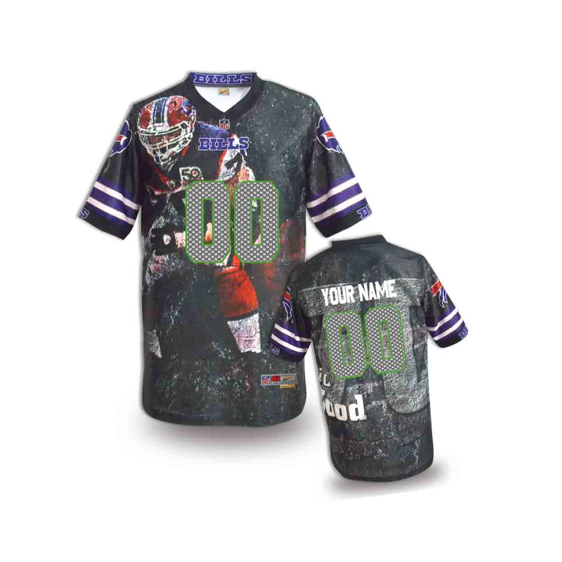 Nike Seahawks Customized Fashion Stitched Youth Jerseys05
