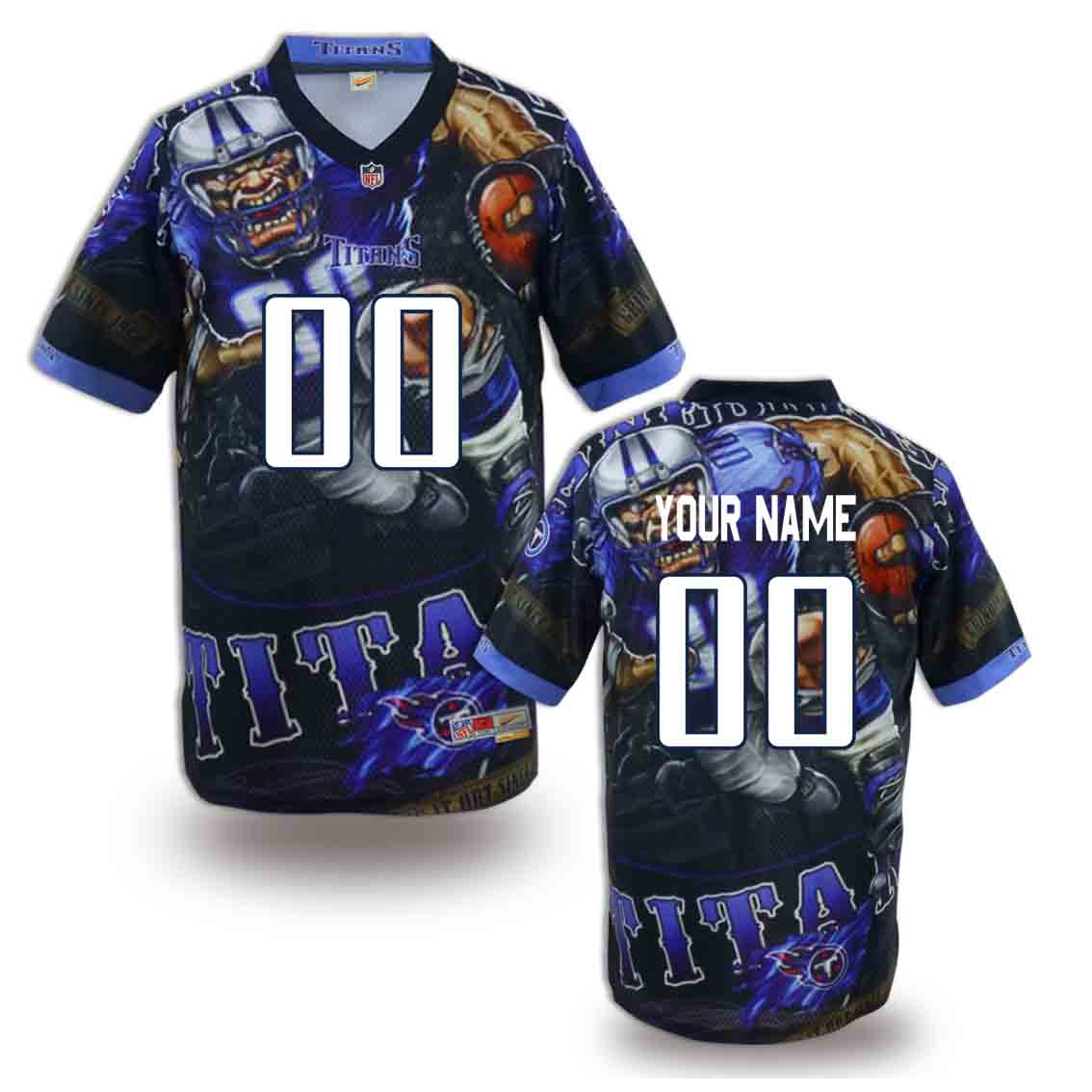 Nike Titans Customized Fashion Stitched Jerseys01