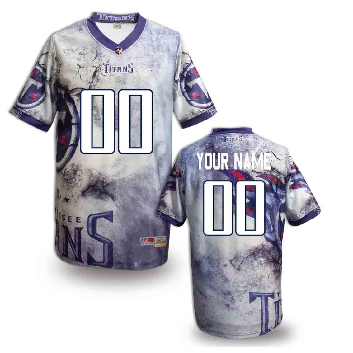Nike Titans Customized Fashion Stitched Jerseys05