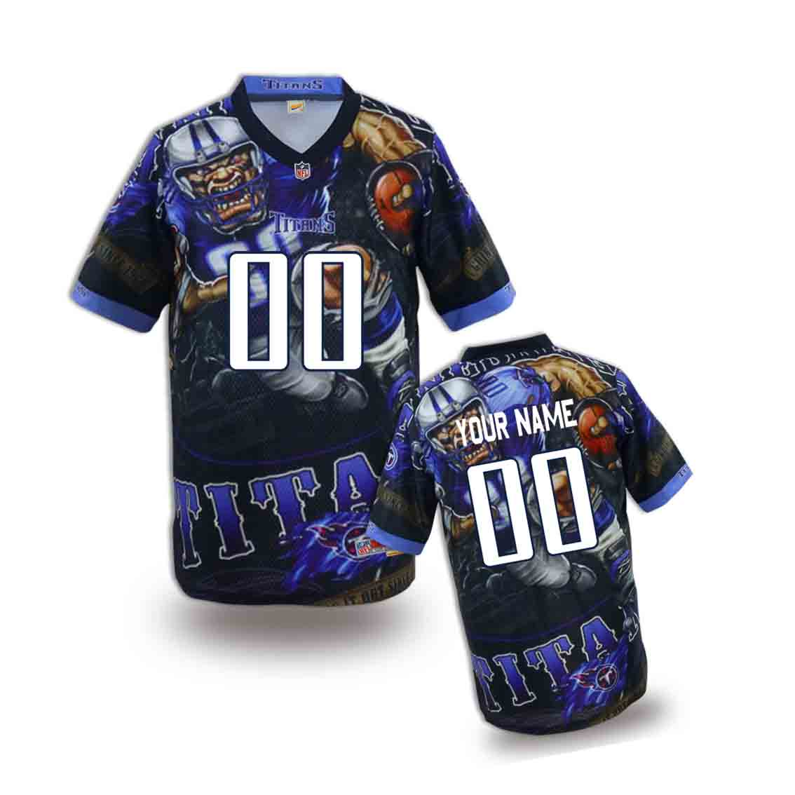 Nike Titans Customized Fashion Stitched Youth Jerseys07