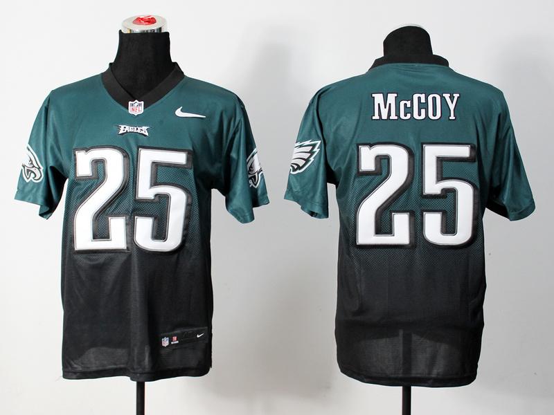 Nike Seahawks 25 McCoy Green And Black Drift Fashion II Elite Jerseys