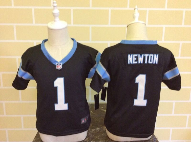 Nike Panthers 1 Cam Newton Toddler Game Jersey