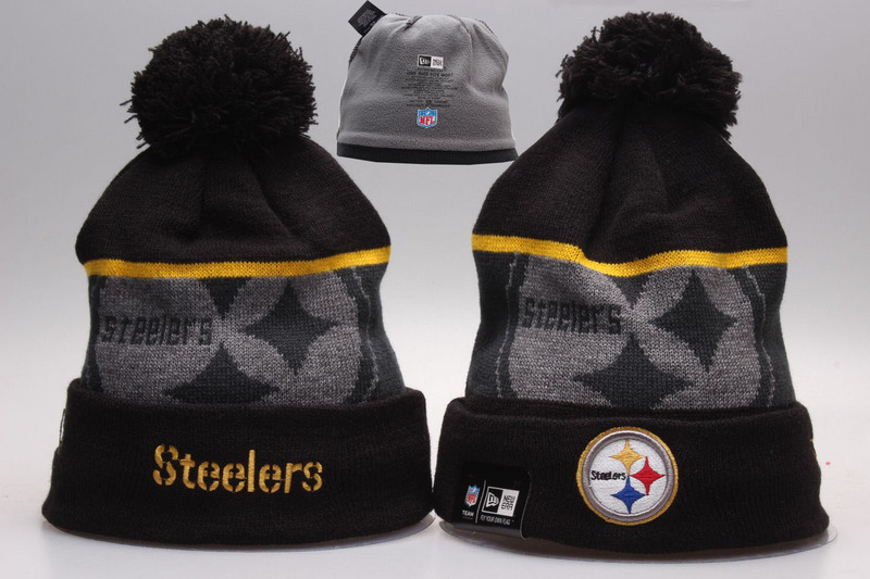 Steelers Black Fashion Knit Hat YP