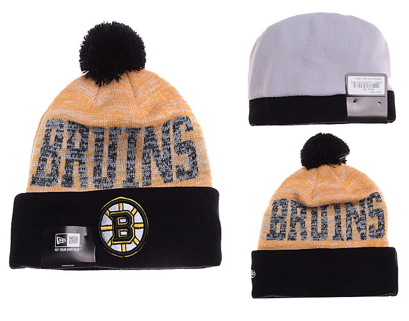 Bruins Fashion Knit Hat YD