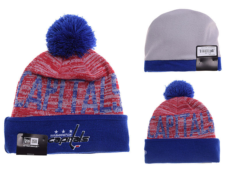 Capitals Fashion Knit Hat YD