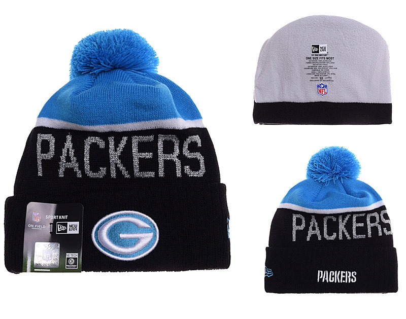 Packers Black Fashion Knit Hat YD