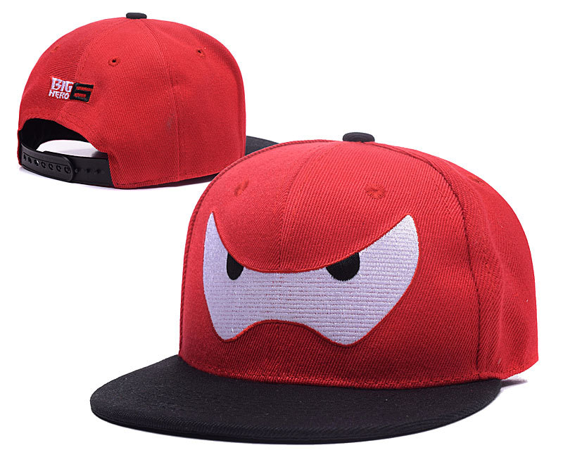 Big Hero 6 Red Adjustable Youth Cap LH