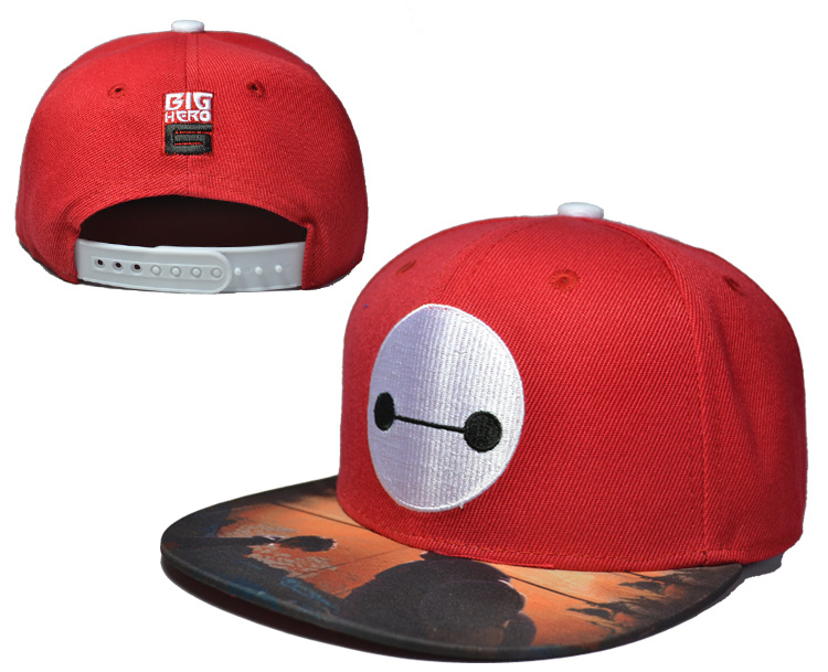 Big Hero 6 Red Adjustable Youth Cap LH2
