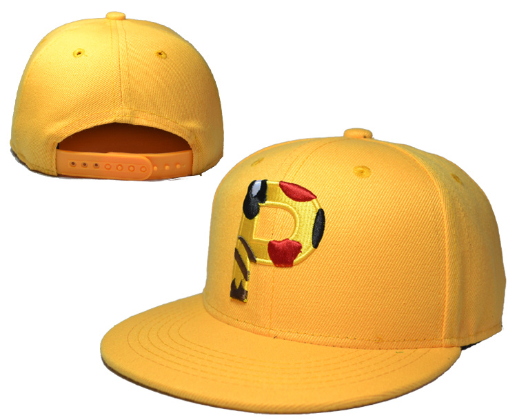 Pikachu Yellow Adjustable Youth Cap LH