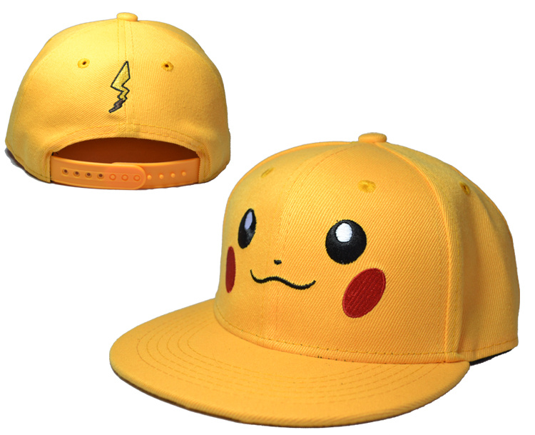 Pikachu Yellow Adjustable Youth Cap LH2