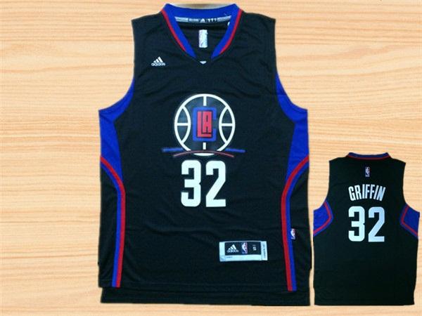 Clippers 32 Blake Griffin Black Swingman Jersey