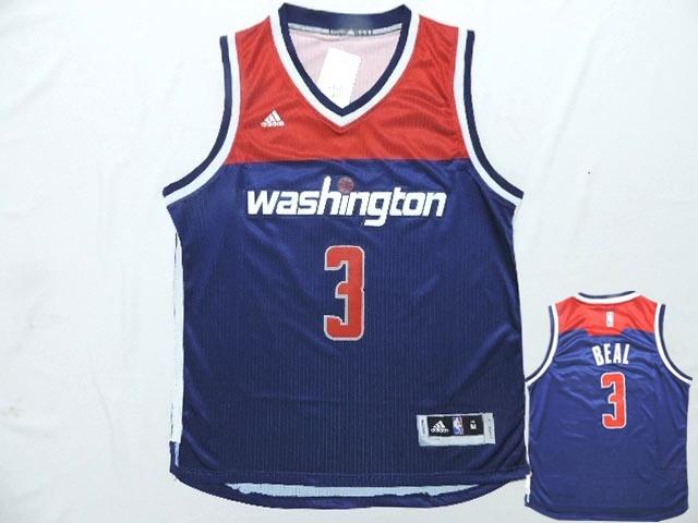 Wizards 3 Blue Red New Revolution 30 Jerseys