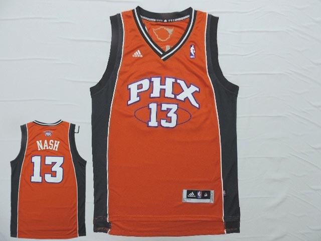 Suns 13 Nash Orange New Revotion 30 Jersey