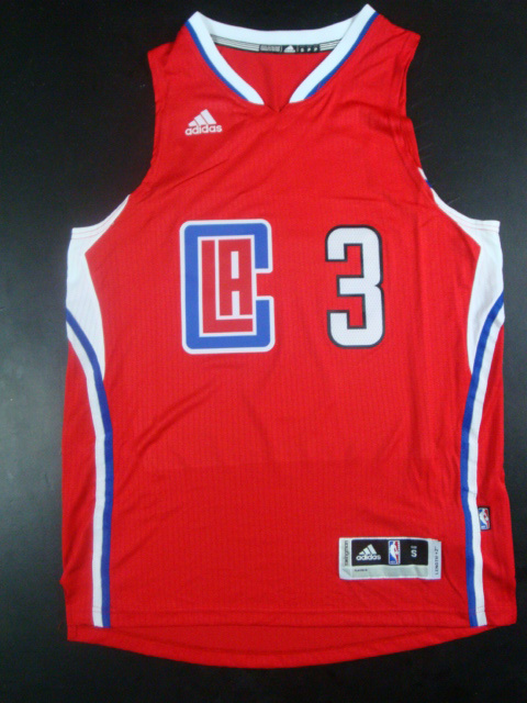 Clippers 3 Chris Paul Red 2015 New Rev 30 Jersey(hot printed)