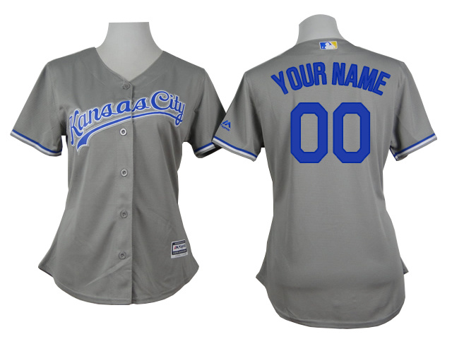 Royals Grey Cutomized Women New Cool Base Jersey