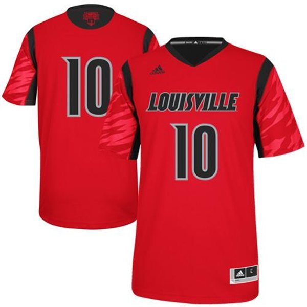 Louisville Cardinals 2013 March Madness #10 Premier Red Swingman Jersey