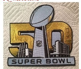 NFL Super Bowl 50 Patch