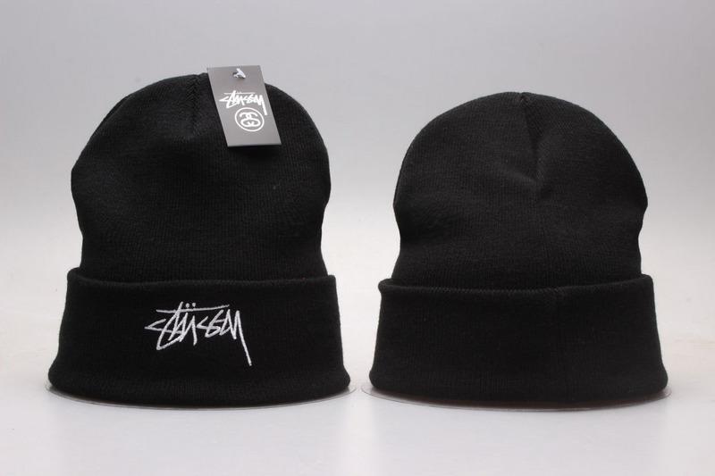 Stussy Black Fashion Knit Hat YP