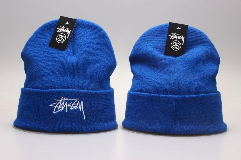 Stussy Blue Fashion Knit Hat YP