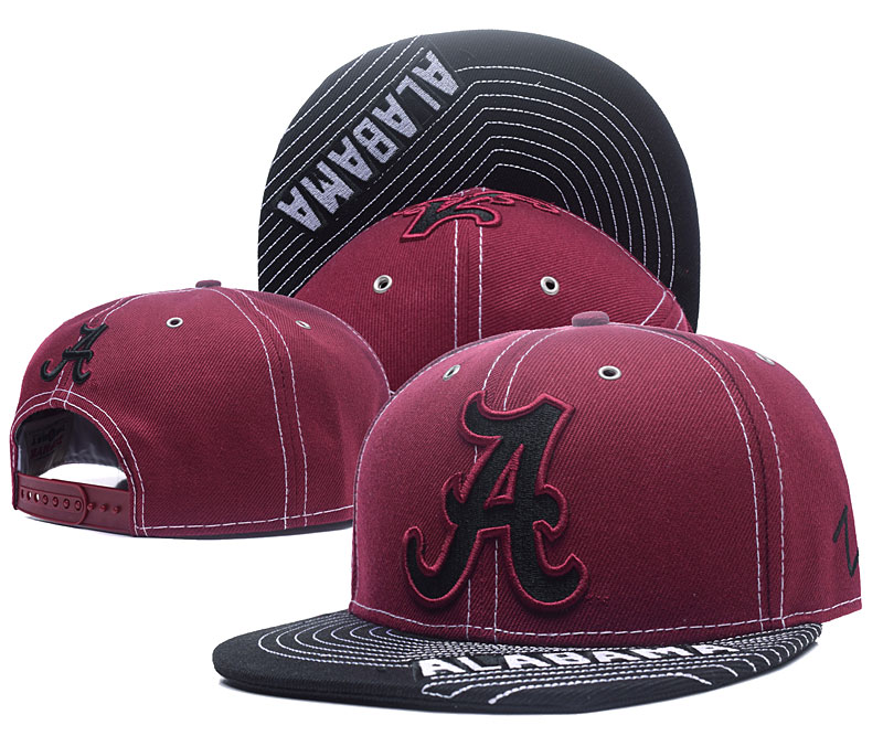 Alabama Crimson Tide Team Logo Burgundy Adjustable Hat YS