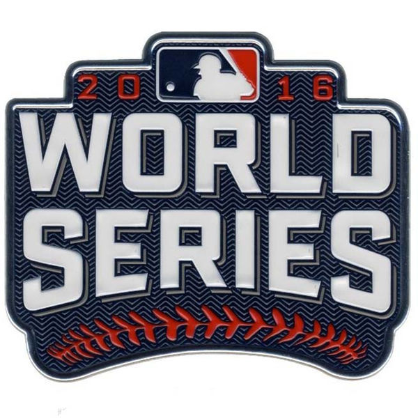MLB 2016 World Series Patch