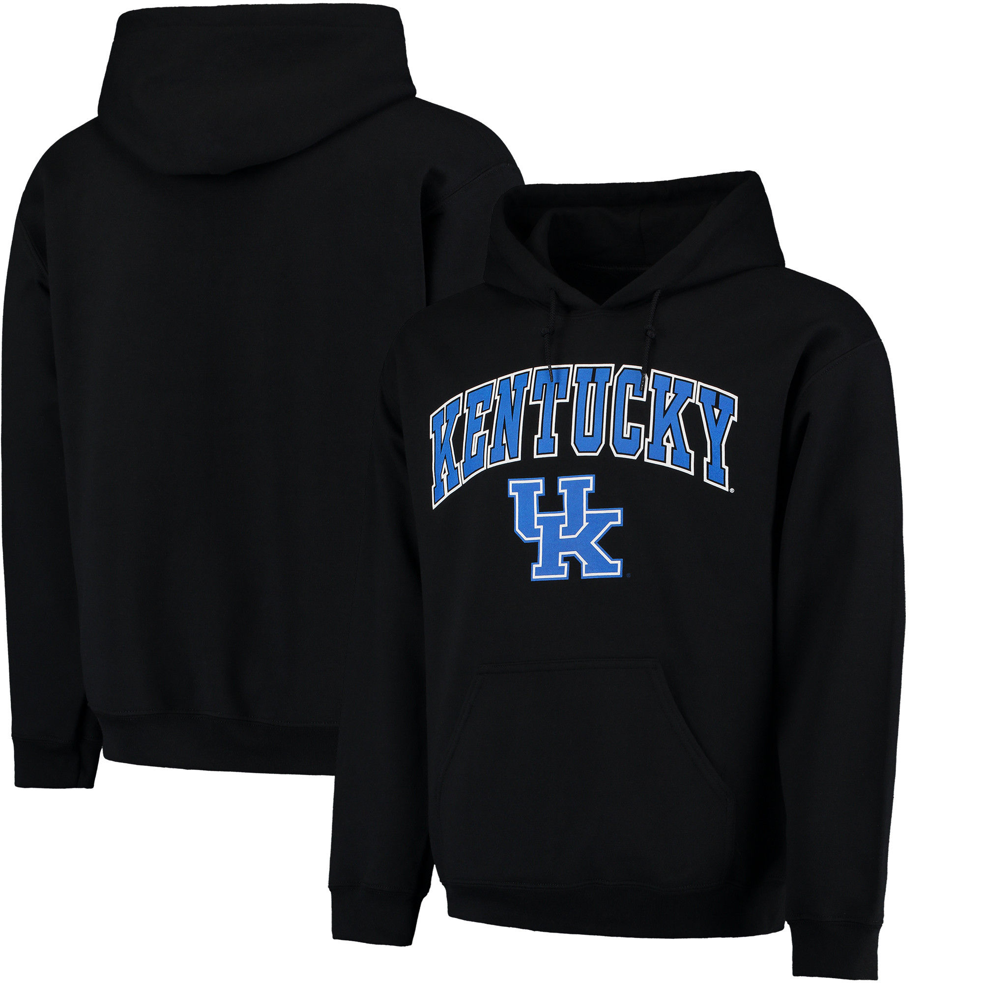 Kentucky Wildcats Black Campus Pullover Hoodie