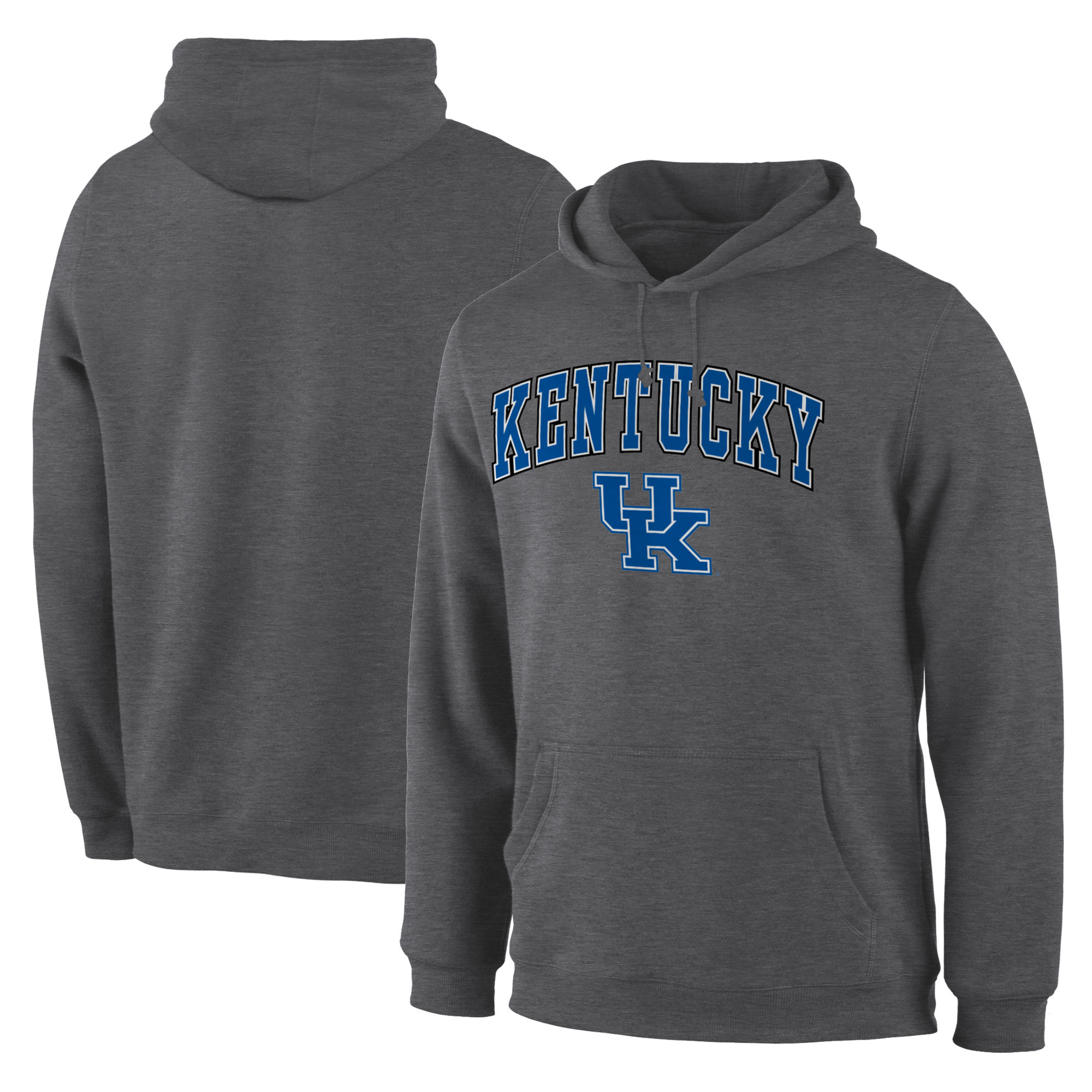 Kentucky Wildcats Charcoal Campus Pullover Hoodie