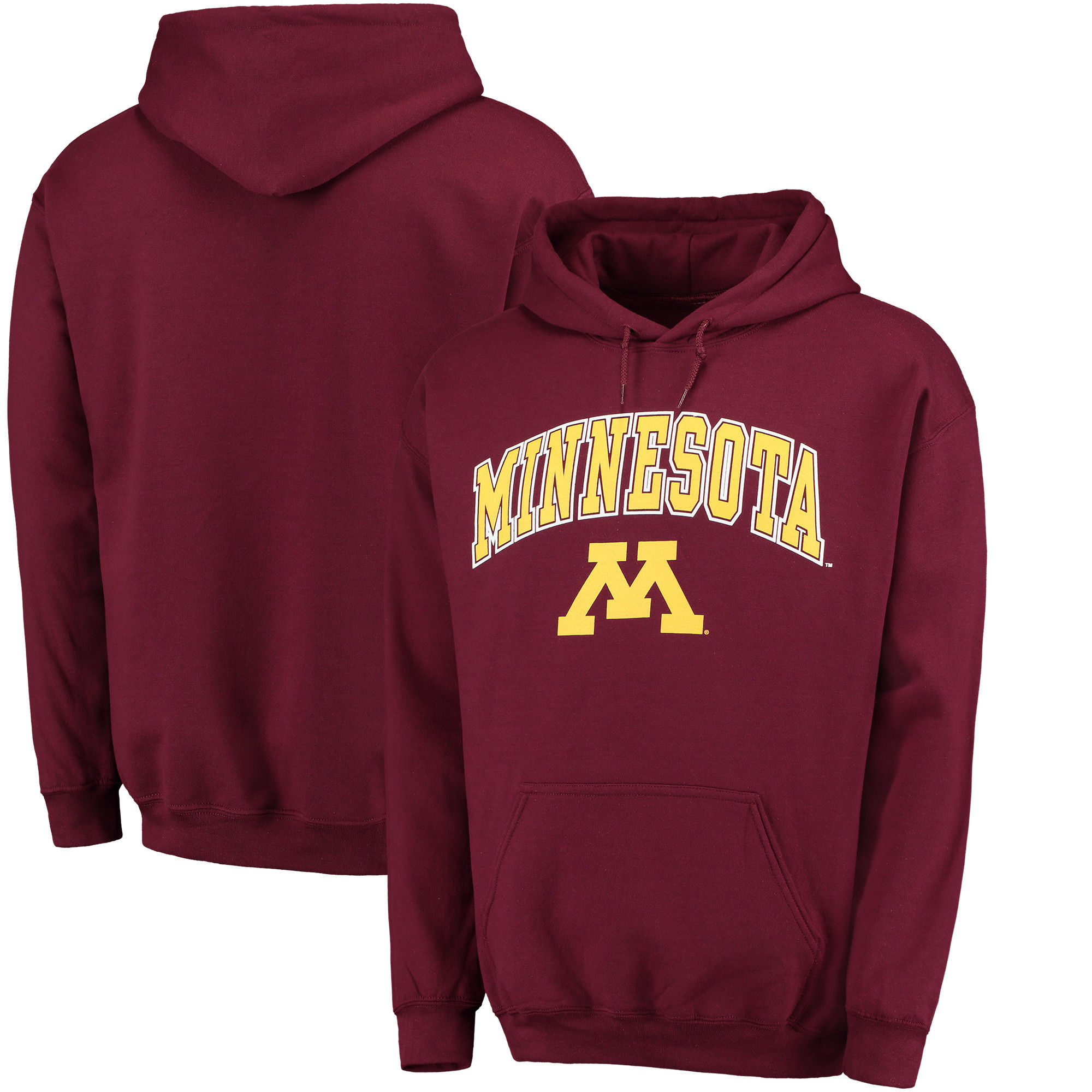 Minnesota Golden Gophers Maroon Campus Pullover Hoodie (1)
