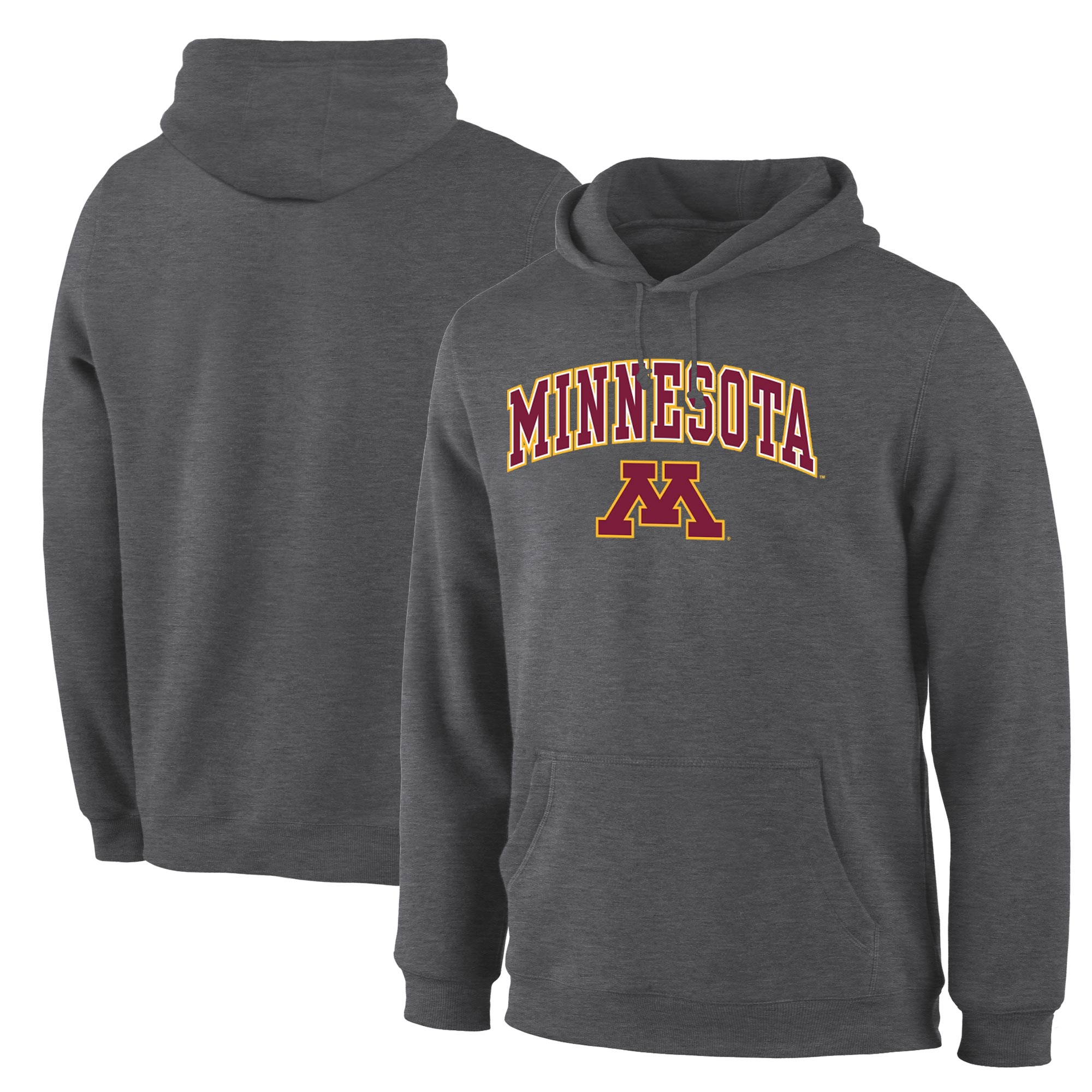 Minnesota Golden Gophers Maroon Campus Pullover Hoodie (2)