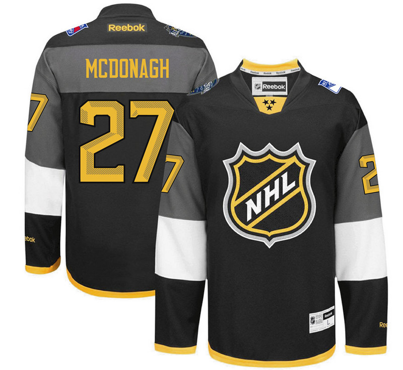 Rangers 27 Ryan Mcdonagh Black 2016 All-Star Premier Jersey