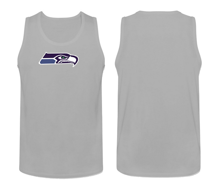 Nike Seattle Seahawks Fresh Logo Men's Tank Top L.Grey