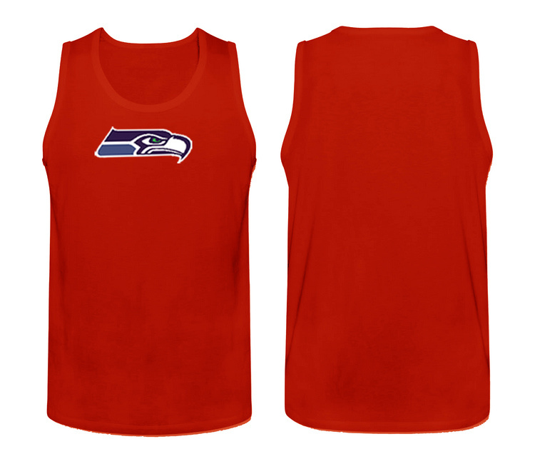 Nike Seattle Seahawks Fresh Logo Men's Tank Top Red