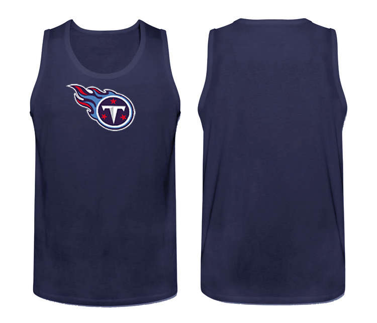 Nike Tennessee Titans Fresh Logo Men's Tank Top Blue