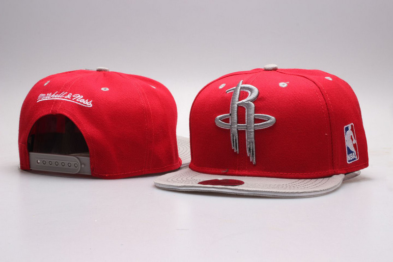Rockets Red Mitchell & Ness Adjustable Hat YP